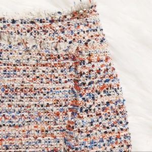 {H&M} fantasy tweed pencil skirt